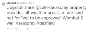 lakes oil tweet