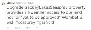 lakes oil tweet