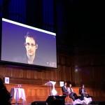 Snowden impressed.