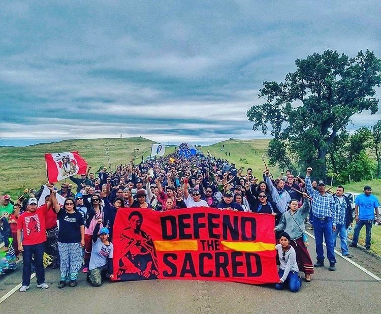 Check In… but don't check out – On Standing Rock