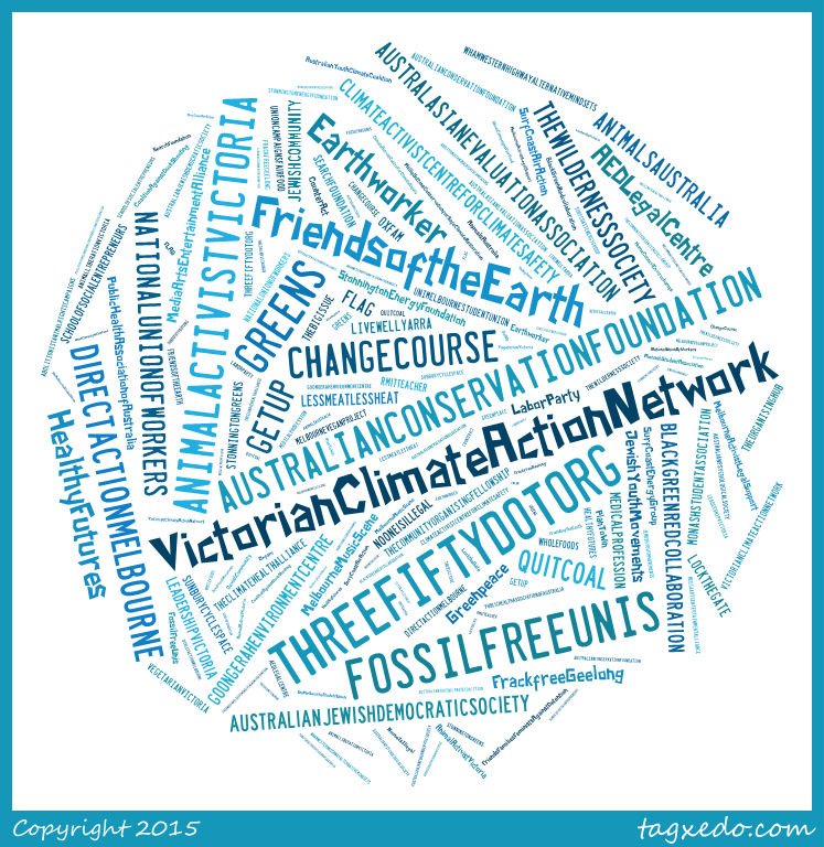 word cloud MCN current connections