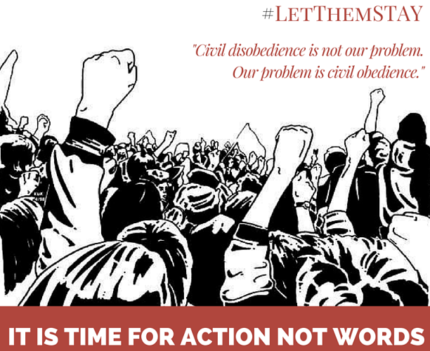 Getting in the way – to #LetThemStay