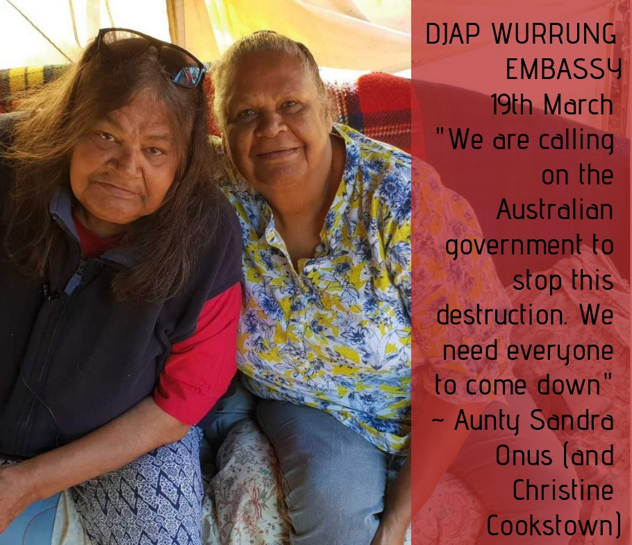 The battle for Djab Wurrung country